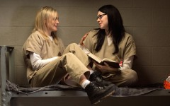 Above: The third season of 'Orange Is the New Black' hits Netflix on June 12th
