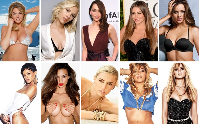 Above: Just a few of the girls we loved throughout 2013