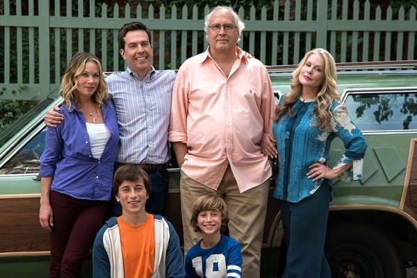 Above: Watch the Griswold family reunite in the first trailer for 'Vacation'