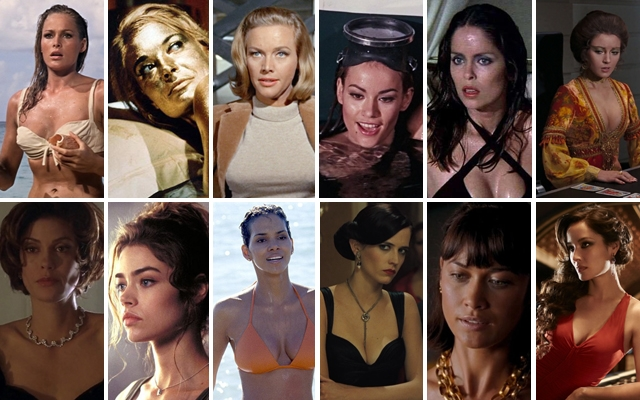 Above: 12 of our favourite Bond girls from the hit franchise.