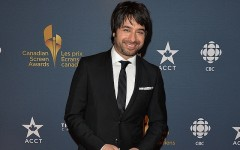 Above: Jian Ghomeshi on the 2014 CSA Broadcast red carpet (Photo: George Pimentel/WireImage)