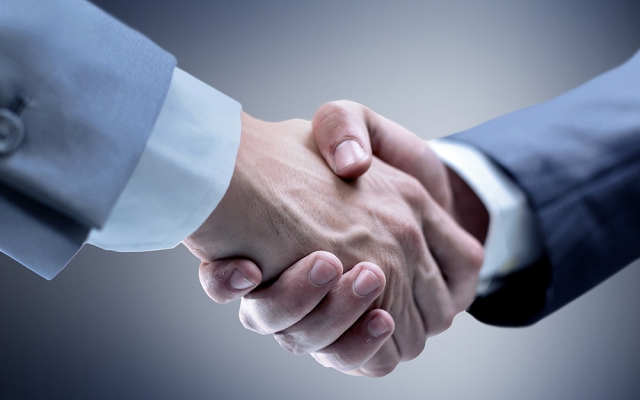 A good firm handshake connotes confidence and capability