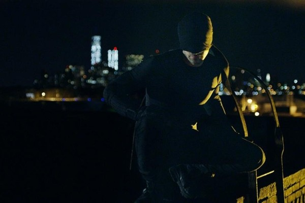 Above: Marvel's Daredevil hits Netflix this week
