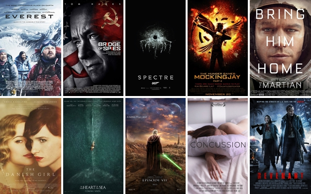 Above: 10 awesome movies still to come in 2015