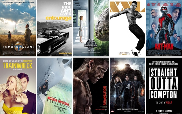 Summer Movie Preview 2015: Get the scoop on 10 of our favourite movies set to open this season