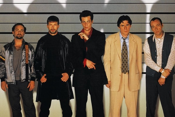 Above: Two decades ago, director Bryan Singer and screenwriter Christopher McQuarrie brought us 'The Usual Suspects'