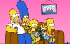 Above: The end of 'The Simpsons' could happen some time in the next 3 years, showrunner Al Jean hinted