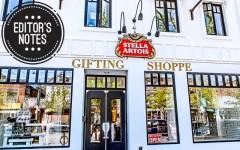 Above: The Stella Artois x Gotstyle Father's Day pop-up store in Toronto (Photo: Jola Bugajski)