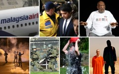 Above: 7 of the biggest news stories of 2014