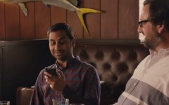 Above: Aziz Ansari in the new Netflix series 'Master of None'