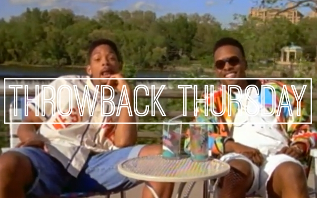 Above: The Fresh Prince and DJ Jazzy Jeff chill out in the 'Summertime' video