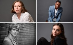 Above (clockwise): Deragh Campbell, Stephan James, Karelle Tremblay, and Aliocha Schneider