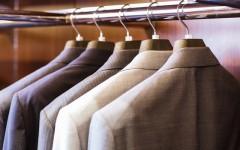Above: Tips to organize your bedroom closet (Photo: John Kasawa/Shutterstock)