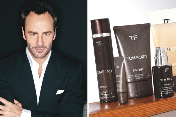 Tom Ford is launching a line of skin care and grooming products for men this fall