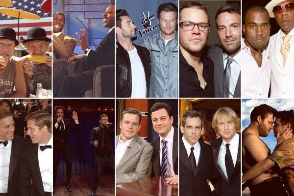 In the spirit of the brotherly love, here are 10 top celebrity bromances
