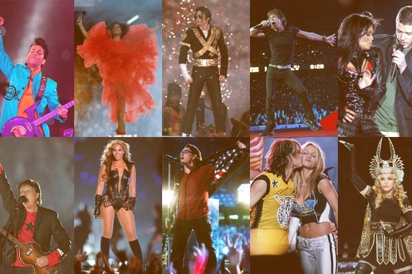 10 of the most memorable Super Bowl halftime shows