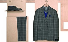 Above: Selections from Tristan's new high-end men's collection: Tristan Luxe