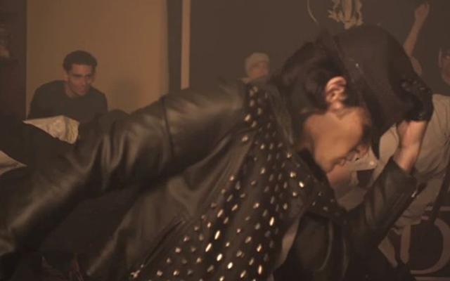 Corey Feldman's 'Ascension Millennium' music video (Screen capture: YouTube)