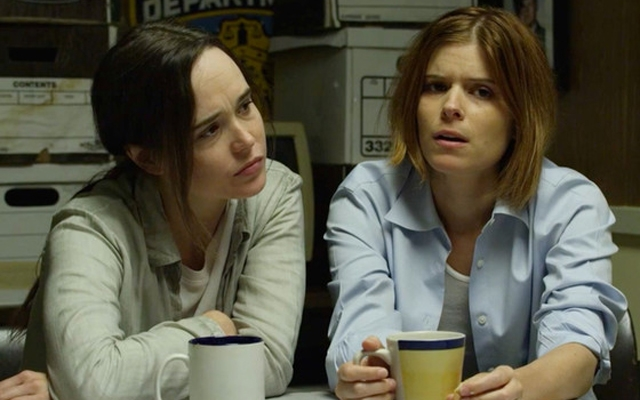 Above: Ellen Page And Kate Mara in Funny or Die's 'Tiny Detectives'