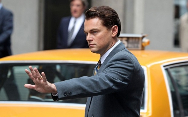 Leonardo DiCaprio in the new The Wolf of Wall Street (Screen capture: YouTube)