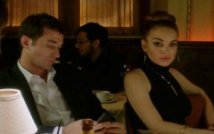 James Deen and Lindsay Lohan in The Canyons