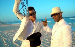 Channing Tatum and Jamie Foxx in the '(I Wanna) Channing All Over Your Tatum' video (Screen capture: YouTube)