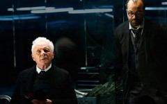 Above: Anthony Hopkins and Jeffrey Wright star in 'Westworld'