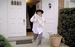 Above: Brody Criz in his viral bar mitzvah invitation video