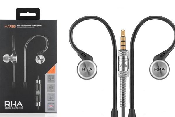 Above: RHA's MA750i Headphones