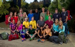 The cast of season 22 of The Amazing Race (Photo credit: Sonja Flemming/CBS)