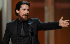 Above: Christian Bale and his infamous ginger beard