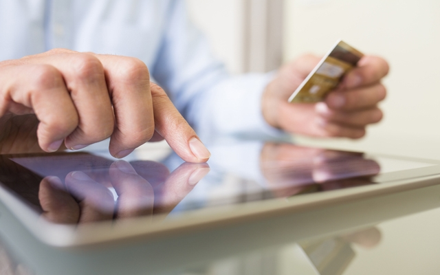 Above: Online shopping is more popular than ever with men (Photo: LDprod/Shutterstock)
