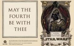The book cover for William Shakespeare's Star Wars (Quirk Books)