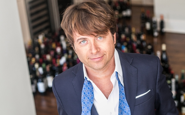 Above: Mark Oldman is one of the world's leading wine personalities