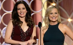 Above: Tina Fey and Amy Poehler killin it at the 2014 Golden Globes (Photo: Paul Drinkwater/NBC)