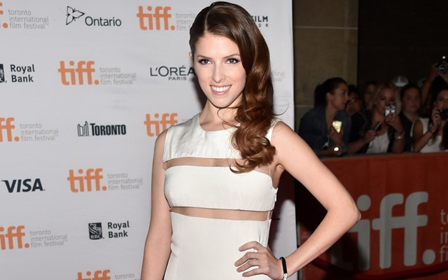 Above: Anna Kendrick on the TIFF red carpet