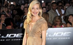 Above: Sienna Miller on the red carpet