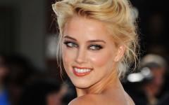 Above: Amber Heard