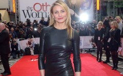 Cameron Diaz on the red carpet for the premiere of 'The Other Woman'