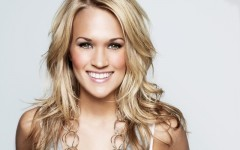 Above: Carrie Underwood