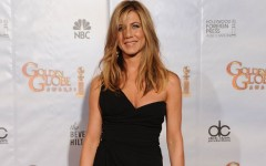 Above: Jennifer Aniston on the red carpet
