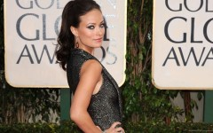 Above: Olivia Wilde on the red carpet