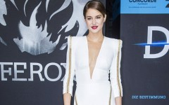 Above: Shailene Woodley at the German premiere of Divergent