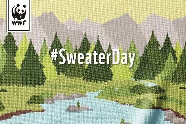 WWF's 4th annual National Sweater Day asks Canadians to support energy saving solutions