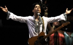 Above: Prince performs during the Coachella Valley Music And Arts Festival on April 26, 2008