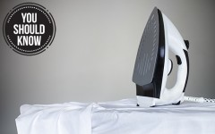 Above: Learn how to iron a dress shirt