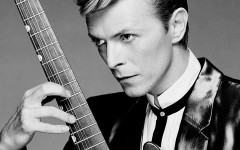 Above: Rock star David Bowie has died following an 18-month battle with cancer