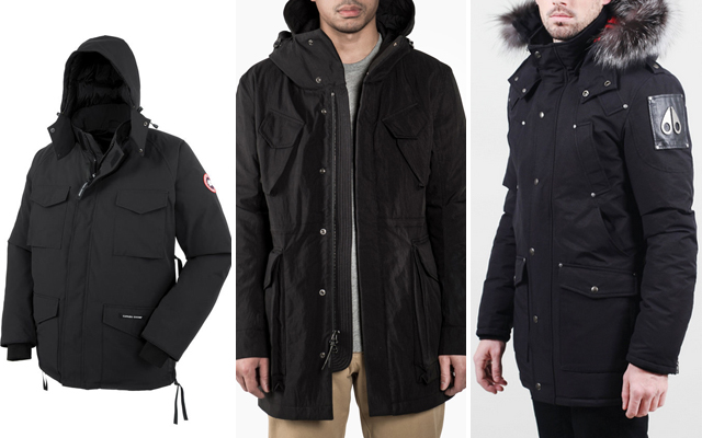 FallWinter 2015-2016 Outerwear Guide - Canada Goose Wings Horns Moose Knuckles