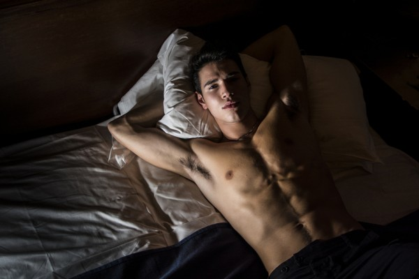Above: A new study has found that men who have regular orgasms - once a day - are less likely to be diagnosed with prostate cancer