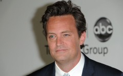 Above: 'Friends' star Matthew Perry has battled with substance abuse, including alcohol and Vicodin